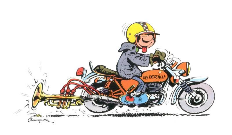 Dessin De Motard dessins motards.drôles - vfr,une moto de rêve * moto